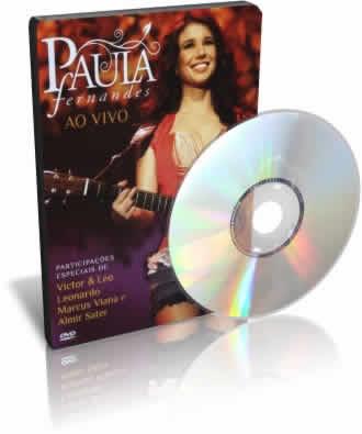 DVD Paula Fernandes Ao Vivo