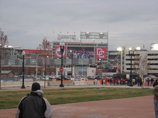 First View of Nationals Park