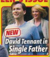David Tennant in What's On TV magazineTwitter