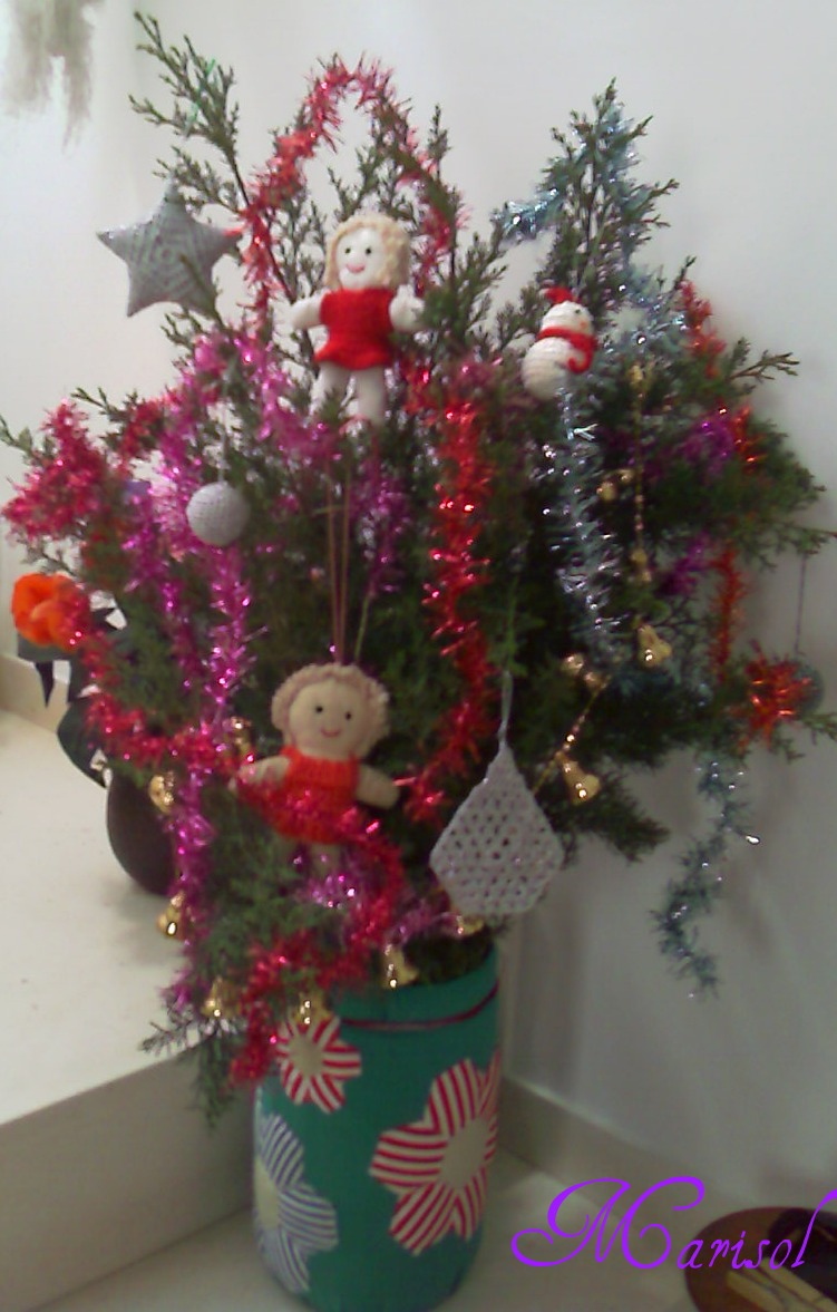 Blog manualidades marisol arbol de navidad - Manualidades navidad arbol ...
