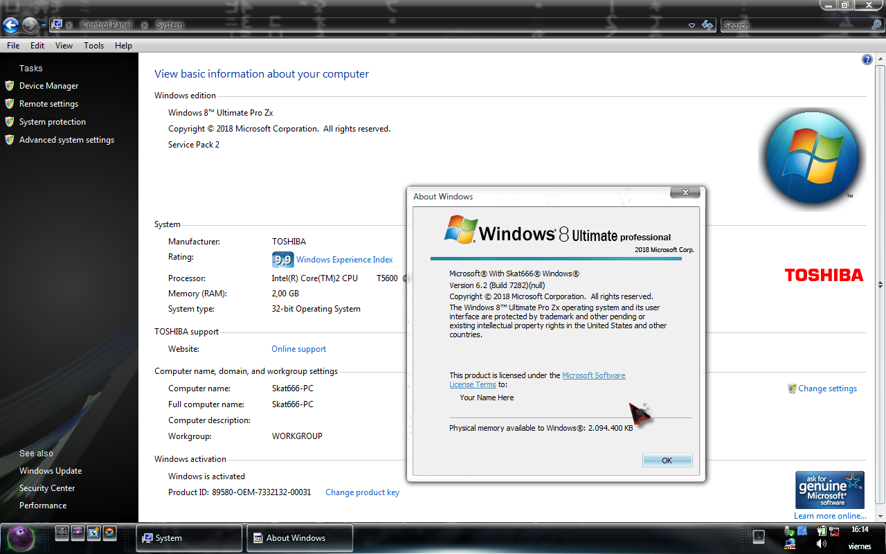 Descargar Windows 8 Ultimate Desatendido