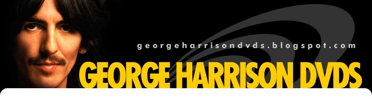 GEORGE HARRISON DVDs