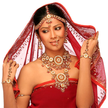 Bridal Jewelry On Beautiful Brides