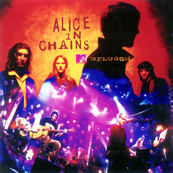 Capa do CD Alice in Chains - Unplugged