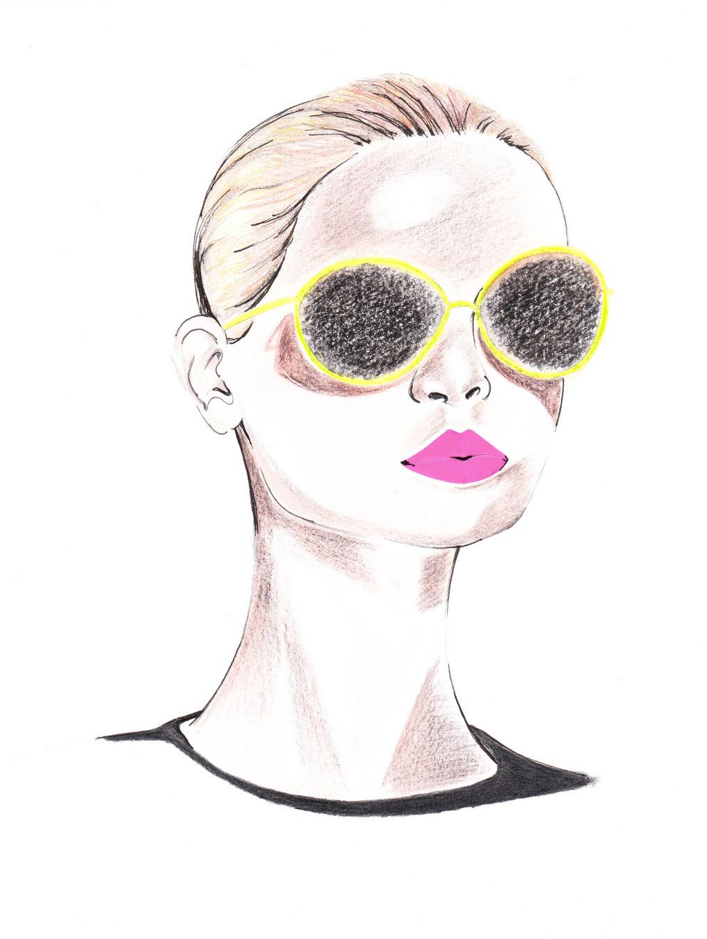 Fashion Drawing Diary Jil Sander Sunglasses Ss Rtw 2011