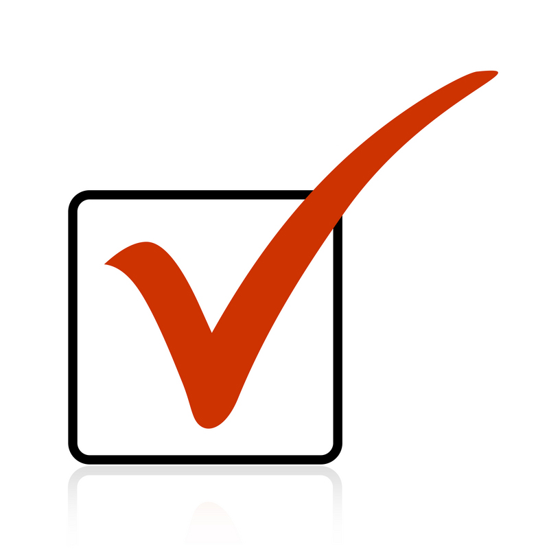 Red Tick Box : Findgoodcustomerservice