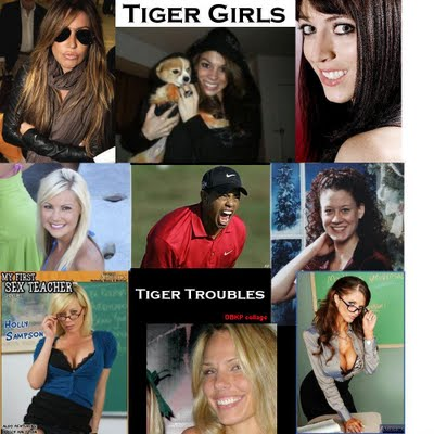 Tiger Woods Women List Photos
