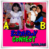 """Birthday Contest By Mama_Balqis"""
