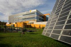 Forschungs- und Produktionszentrum von Isofoton in Malaga, Spanien