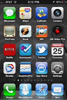 These are the apps that make it to my homepage.