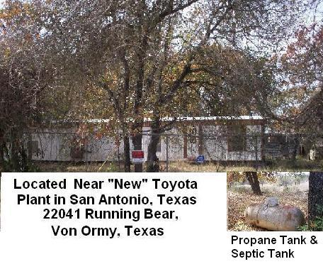 Land For Sale in Von Ormy Texas (Hwy 16)