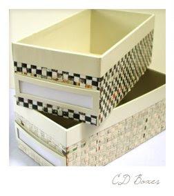 CD boxes at P350