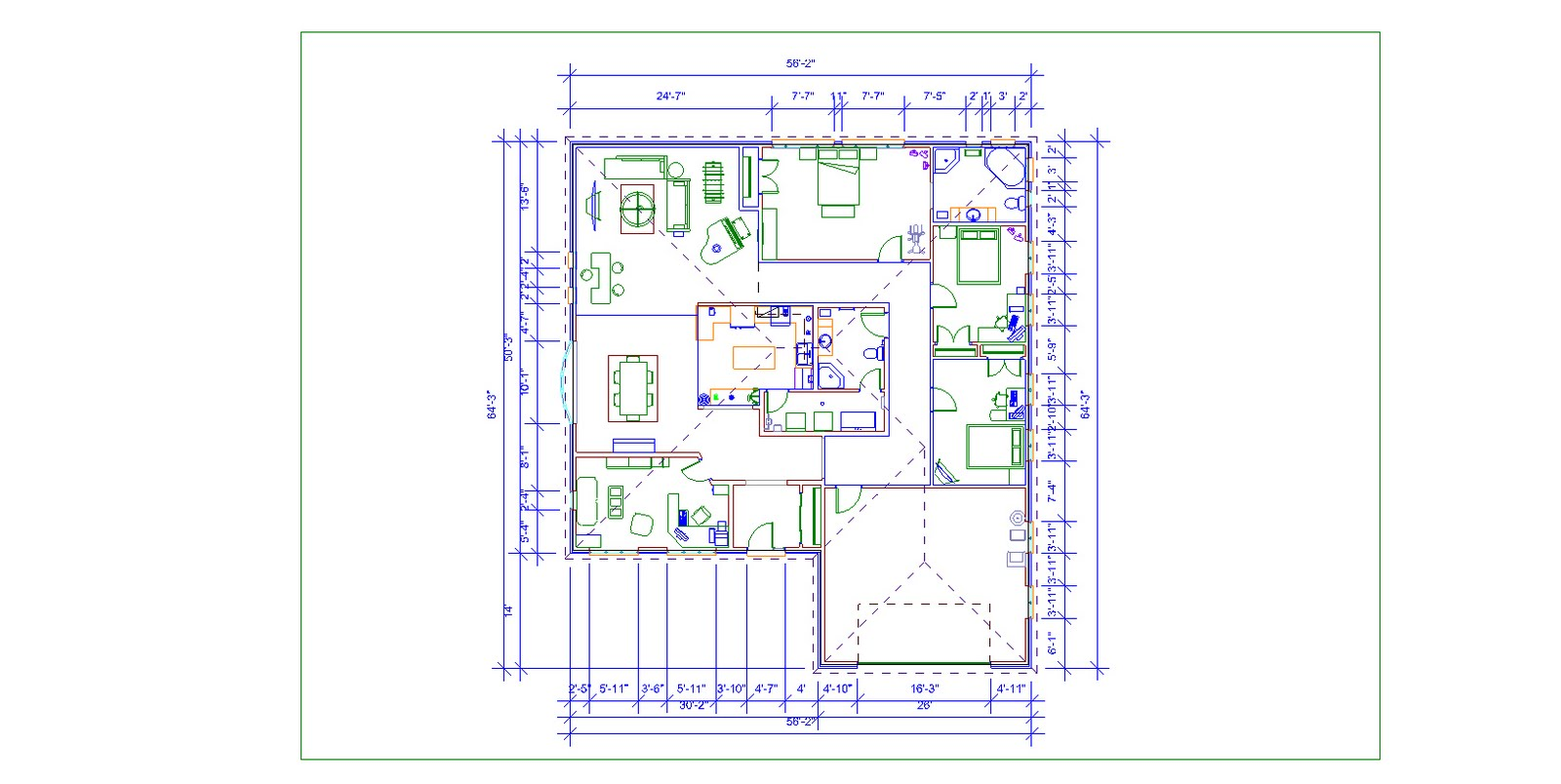 20 Spectacular House Plan Dimensions House Plans 24719