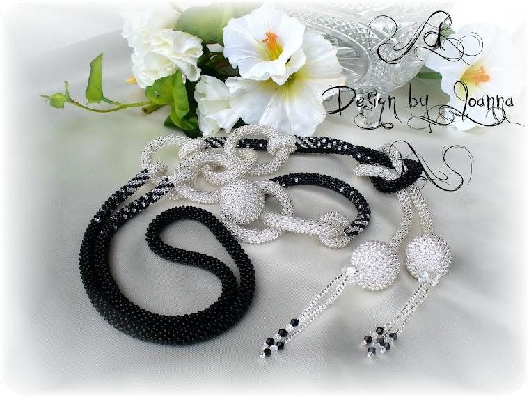 Schwarz-Silber Kette und Armband mit Swarovski Steinen...
