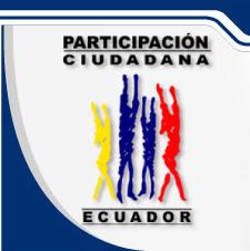 Participacion Ciudadana Ecuador