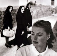 Ingrid Bergman, em Stromboli, 1950