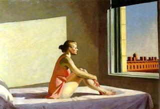 Edward Hopper, Morning Sun, 1952, Columbus Museum of Art, Ohio