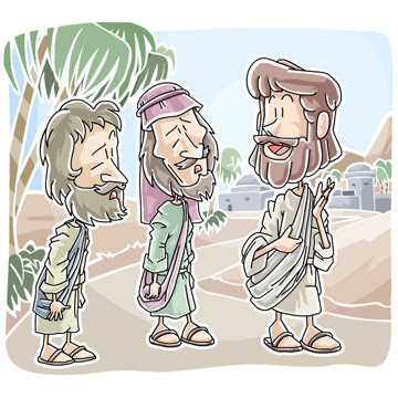 Two disciples did not recognize revived Jesus