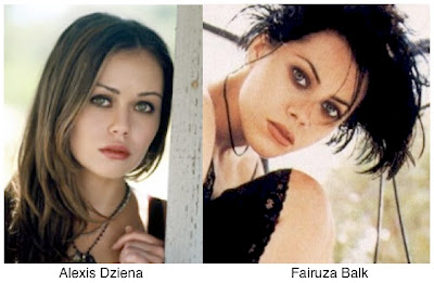 Celebrity Look Alikes: Alexis Dziena Vs Fairuza Balk