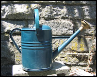 Watering Can by Wall