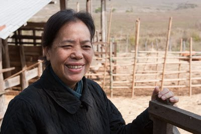 Kommaly Chantavong, founder of Lao Sericulture Company