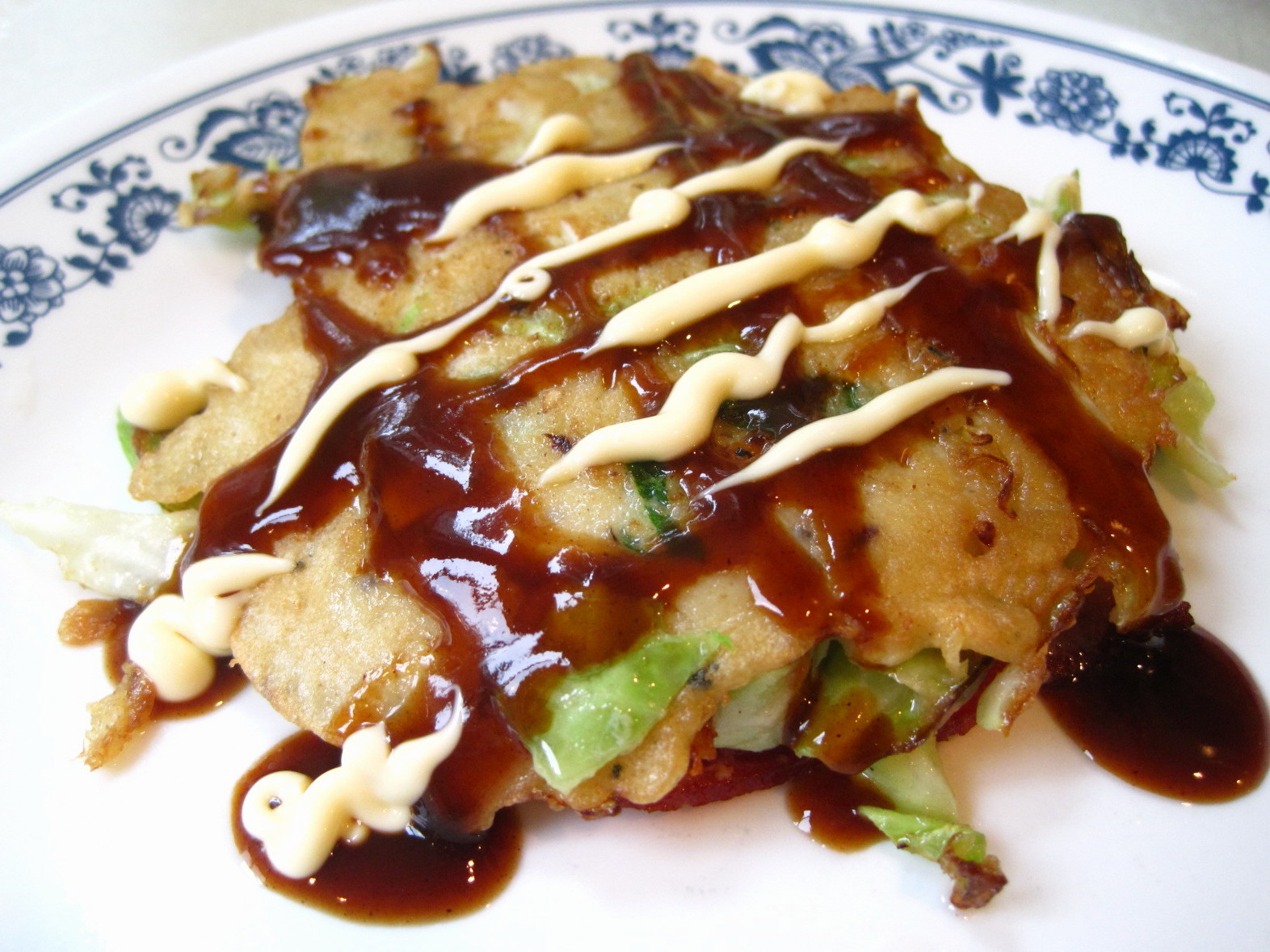 The Grey Area Mom: Recipe - Okonomiyaki (Japanese Pancakes)