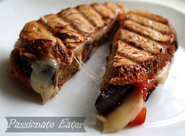 ... Eater: Working Eater Series: Mozzarella and Eggplant Panini Sandwiches