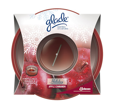glade candle holiday collection