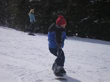 My little Snowboarder Jonah