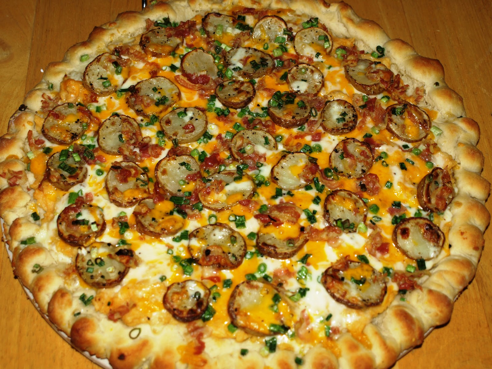 Baked Potato Pizza Recipes — Dishmaps
