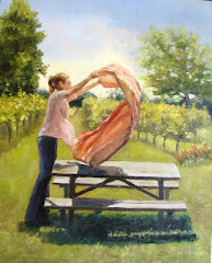 Picnic 16X20 Oil on Linen Canvas