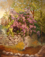 Lilacs on the Wall