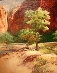 Trail from the Zion Narrows