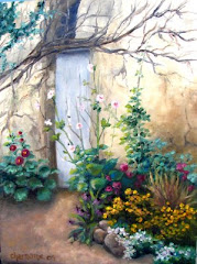 The Garden Door 12X16