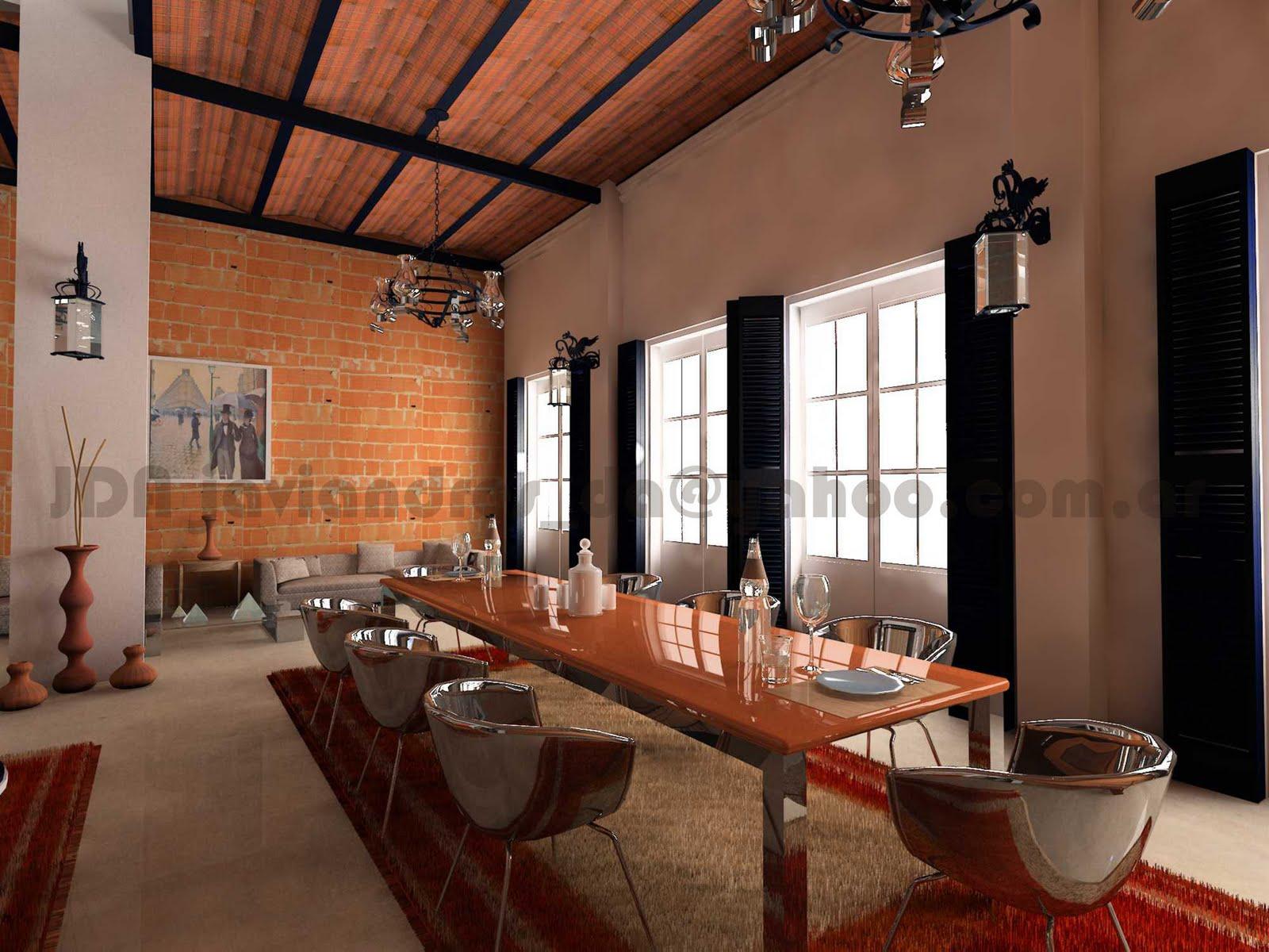 Arquitec maquetas casona de buenos aires 3d for Remodelacion de casas viejas