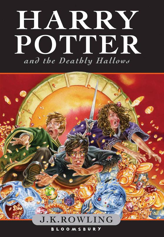pics of harry potter books
