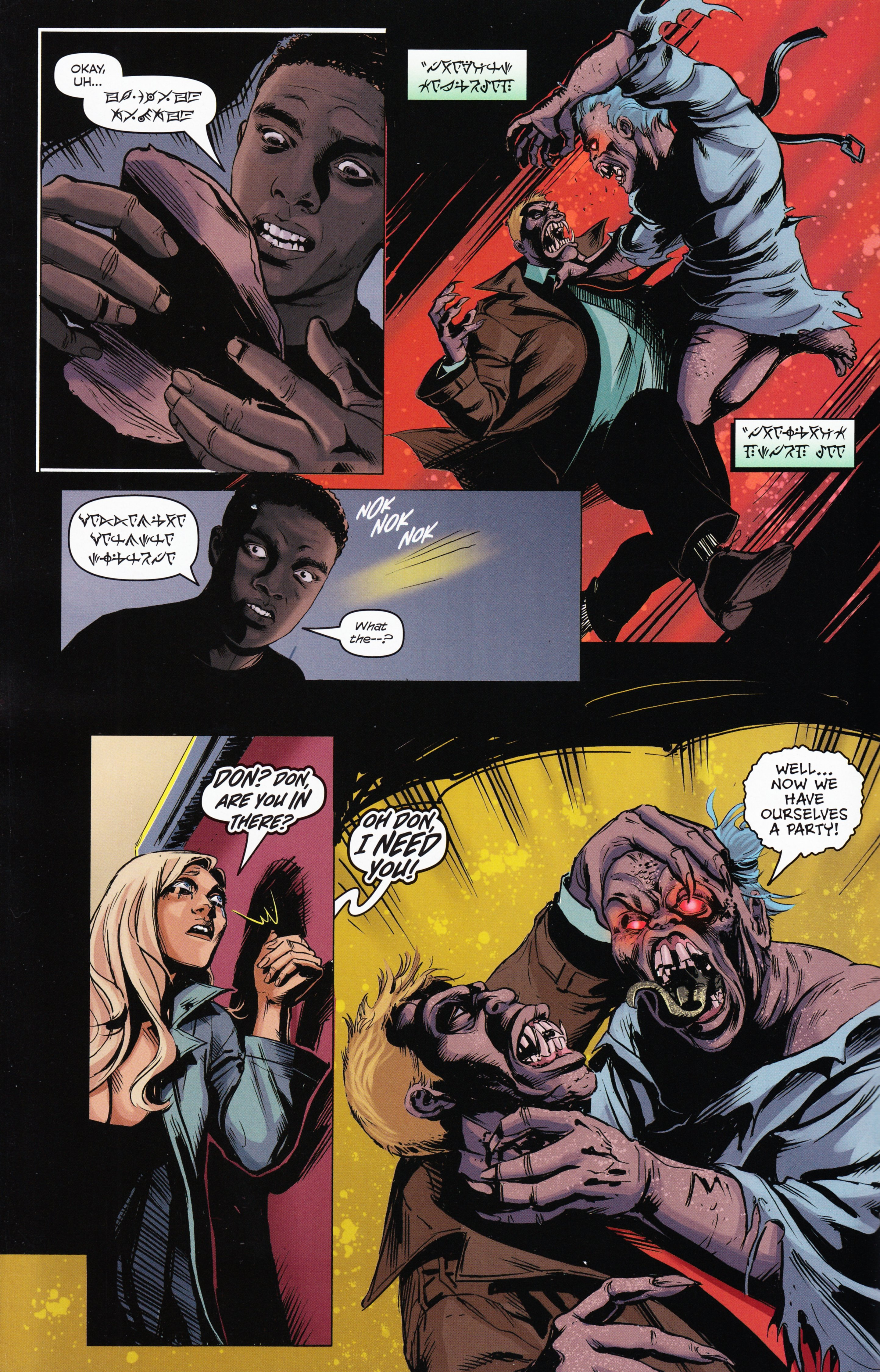 Read online Evil Dead 2: Tales of the Ex-Mortis comic -  Issue #3 - 12