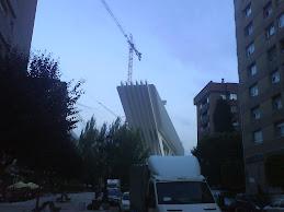 El Princesa Letizia de Calatrava (Oviedo) en construcción