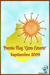 Premio Blog Gran Canaria 2009