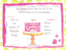 Personalize invitations!