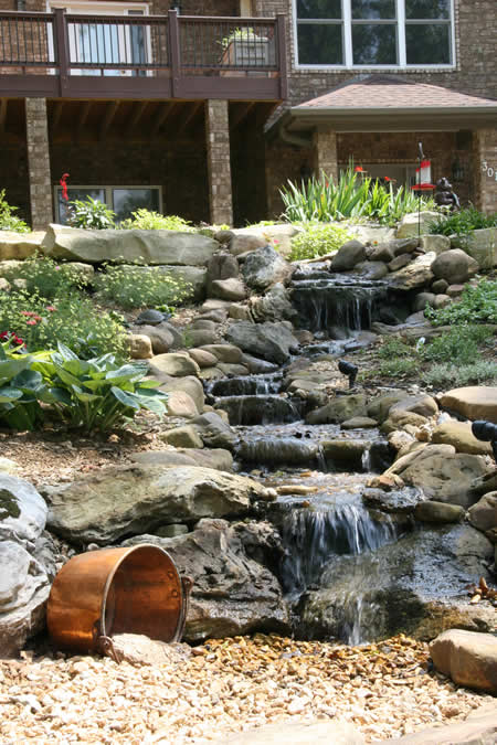Backyard Waterfall Designs