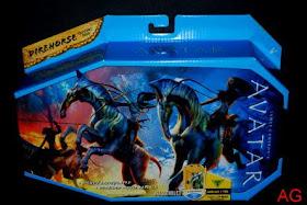 2009 James Cameron/'s Avatar movie DIREHORSE Na/'vi creature figure