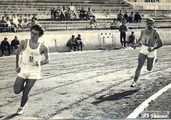1057. Mi primer contacto con una pista de atletismo en Madrid...