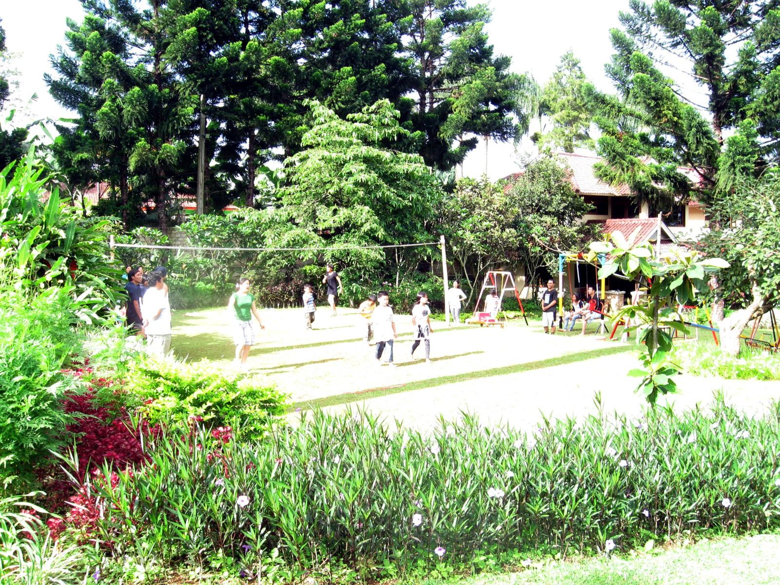 Terrace Villa Golf Lapangan Bola Volley Sepak