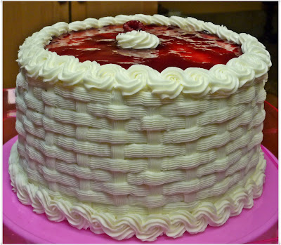 Crazy About Cakes French Vanilla Cake With Raspberry Filling