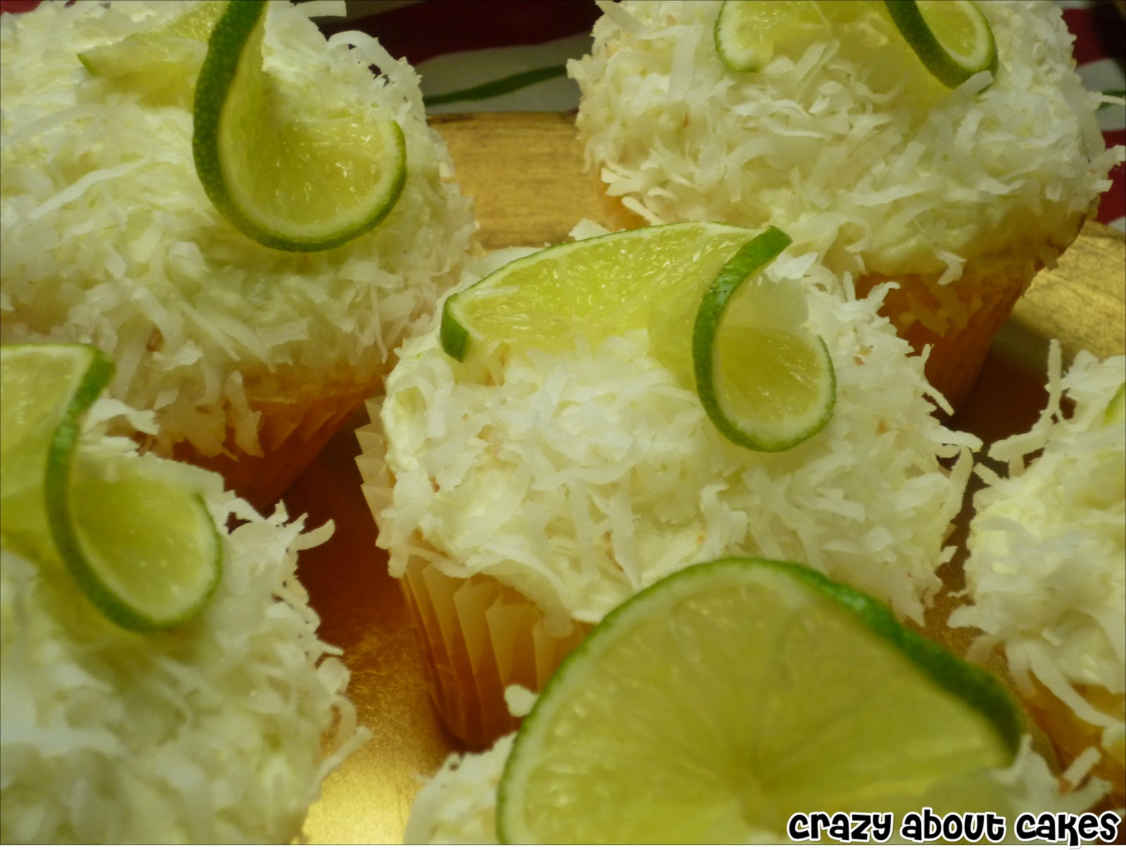practiced making the coconut lime cupcakes until I got them just ...