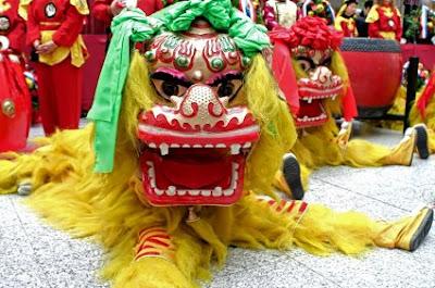 NAMC montessori classroom culture curriculum chinese new year dragon dance