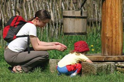 NAMC modeling montessori behavior at home child teacher outdoors