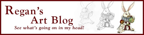 Regan's Artist Blog