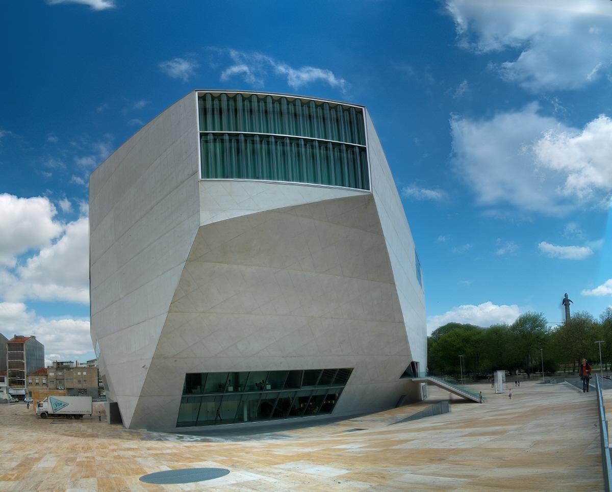 Arquicorbusier la casa da musica casa de la musica for Piscitelli casa de musica